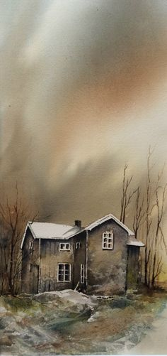 "Hanna L. Jakobsen, from her ""Gamle hus med sjel"" (""Old Houses with Soul"") series"