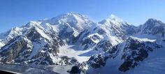 Mt. Denali Alaska the second tallest mountain.