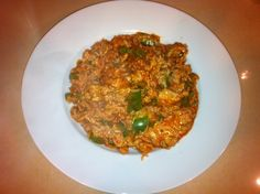 Cheesy Turkey Bell Pepper and Rice Casserole  Recipe - One Pot meal