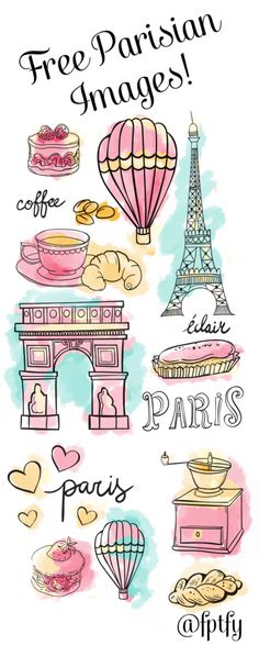 Today Ihave for you some lovely Free Parisian Doodle Images that I hope make your day a little more fun! Use them to make your own custom printables, tags, journaling, flyers and so on! To download click the following: 1    2    3   4    5...Read More »