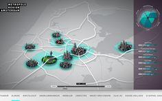 Amsterdam Metropolitian Area on the Behance Network
