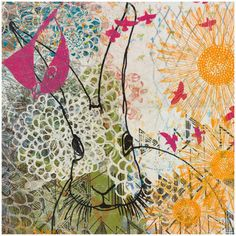 Chickadee Tells Print 16x16 now featured on Fab.