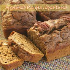 Applesauce Pumpkin Spice Bread is good!  #MyAllrecipes #AllrecipesAllstars  #AllrecipesFaceless