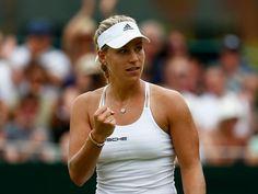 Result: Angelique Kerber sails past Misaki Doi to reach quarter-finals at Wimbledon