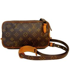 Louis Vuitton Monogram Marly Bandouliere Lv Mono Brown Cross Body Bag. Get the trendiest Cross Body Bag of the season! The Louis Vuitton Monogram Marly Bandouliere Lv Mono Brown Cross Body Bag is a top 10 member favorite on Tradesy. Save on yours before they are sold out!