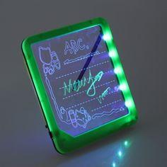 Fluoreszierendes Notizbrett, lasse deine Notizen aufleuchten