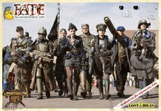 FATE Post-apocalyptic LARP - Fantastic dieselpunk outfits