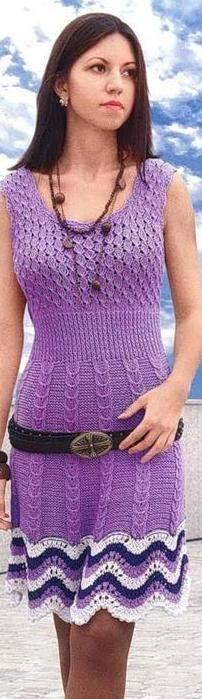 Вязание спицами для женщин | Записи в рубрике Вязание спицами для женщин…