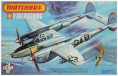 Matchbox-P-38-Lightning_Roy-Huxley was the affordable aircraft during the WORLD WAR II fighting against germans aircrafts to be gained the respect maybe a muscle aircraft by your weapons and speed shutdown Messerschmitts obtained a powerfulest engine too was capable to it the germans bombers winner greats battles. Too this fightercraft has action in The Pacific War against Japan, Birmania and Philippines attacking the japanese invaders.