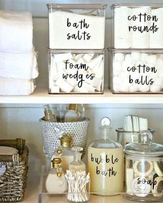 42 super creative DIY bathroom storage projects to decorate your bathroom on a . - 42 Super Creative DIY Bathroom Storage Projects to Organize Your Bathroom on a Budget – New Decor - Home Organisation, Kitchen Organization, Organization Hacks, Kitchen Storage, Diy Kitchen, Roommate Organization, Bathroom Product Organization, Organization Ideas For The Home, Small Closet Organization