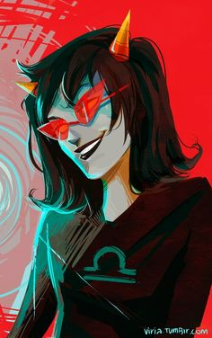 stupid headshots but I don't have time for anything else technically I don't have time for this as well it's like my last days and the 'end of the world' is like close so I'd better draw than study.. I really want to get all this binary style, but that's still pretty bad. BUTTT I wanted to draw Terezi anyway yeah now I will go and study though.