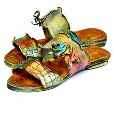 Greek Leather Sandals for Women - innovative greek sandals Flat Shoes, Flat Sandals, Leather Sandals, Shoes Sandals, Flats, Greek Sandals, Louis Vuitton, Footwear, Women