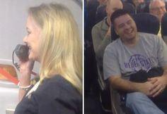Hilarious Southwest Airlines Flight Attendant