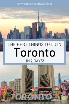 Read here for the best things to do in Toronto, Canada. From viewing the stunning Toronto skyline, to enjoying the downtown lifestyle. Top 10 Tourist Destinations, Canada Destinations, Amazing Destinations, Toronto Nightlife, Toronto Travel, Packing List For Travel, Travel Tips, Travel Articles, Toronto Skyline
