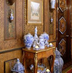 "Howard Slatkin's ""Fifth Avenue Style"" - Back Hall"