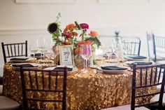 A Colorful Great Gatsby Inspired Wedding