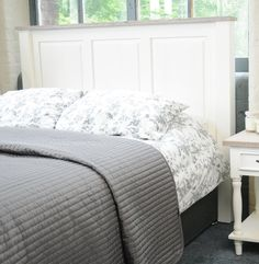 Free delivery over to most of UK ✓ Great Selection ✓ Excellent customer service ✓ Find everything for a beautiful home Double Headboard, King Headboard, Panel Headboard, New England Style, Homestead Living, Hazelwood Home, Home Additions, Shaker Style, Quality Furniture