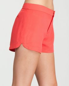9. shorts, jeans or a skirt for daytime outing {bebe Mia Silk Short} #bebe #wishanddreams