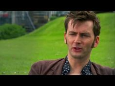 Doctor Who Confidential: David Tennant's farewell he cries saying goodbye!! Ya I can't watch this. :(