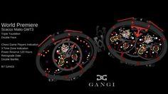Scacco Matto GMT 3, Tourbillon byrd Gangi Time Zones, 21st Century, Pocket Watch, Watches, Wristwatches, Clocks, Pocket Watches, 3rd Millennium