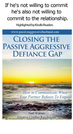 Having a relationship with a person who uses passive aggressive behaviors? Learn what to do...