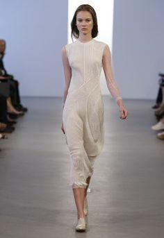 Calvin Klein .sheer.flowing.graceful.summer white.