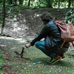In to the wild with your Bottiglito backpack!