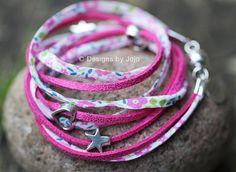 Liberty of London Floral Wraparound Bracelets