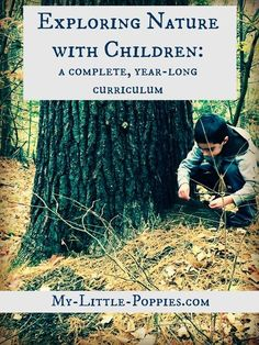 Homeschool nature study - Exploring Nature with Children & DIY Nature Explorer Packs! Diy Nature, Theme Nature, Nature Study, Science And Nature, Summer Science, Earth Science, Nature Crafts, Outdoor Education, Outdoor Learning