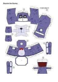 Resultado de imagen para five nights at freddy's papercraft