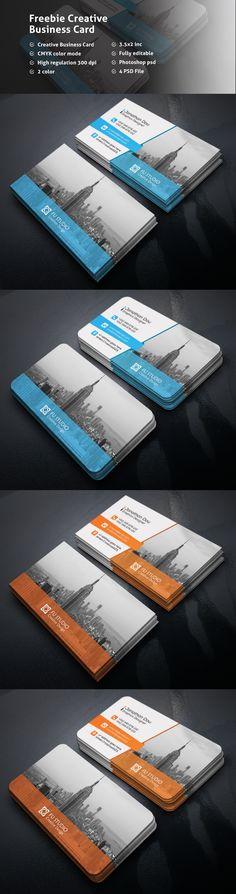 Freebie Creative Business Card on Behance