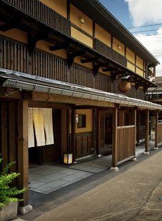 Japanese inn, Isen, in Uonuma, Echigo Uzawa, Niigata prefecture, Japan.  It was amazing architecture.  They have great restaurant upstairs.  Everything is beautiful to look at.