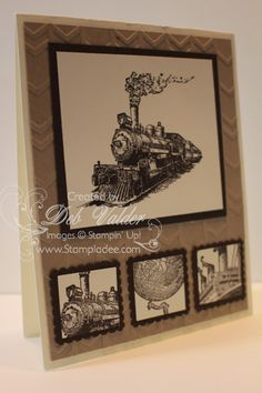 Masculine Card meets The Traveler with Deb Valder by djlab - Cards and Paper Crafts at Splitcoaststampers