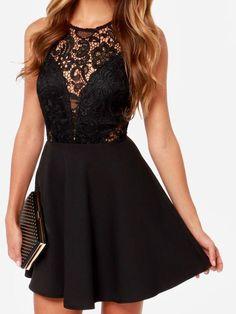 2017 Homecoming Dress Black Lace Short Prom Dress Party Dress JK115