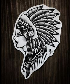 - The Effective Pictures We Offer You About diy face mask A quality picture can tell you many things - Indian Head Tattoo, Indian Chief Tattoo, Indian Girl Tattoos, Indian Tattoo Design, Hand Tattoos, Body Art Tattoos, Sleeve Tattoos, Traditional Tattoo Indian, Traditional Tattoo Design