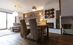 Brick, Divider, Interior, Table, Room, Furniture, Home Decor, Rustic, Bedroom