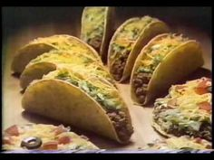 Taco Bell 1979 TV ad - Remember when they actually used to put meat in it?! Get a Taco Bell taco today and I swear there's only a tablespoon of meat in the damn thing!