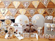 Printable Cooking Birthday Party Supplies | Kitchen Party | Chef Party Supplies