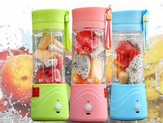 Portable USB Rechargeable Electric Mini Juice Blender from Foshan ...