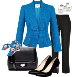 """""""Work Day Monday"""" by annabouttown on Polyvore"""