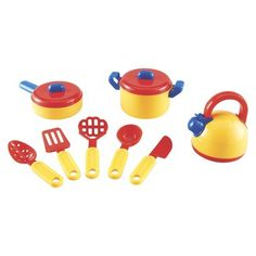 Maven Gifts Constructive Playthings BBQ Lunch for Four Playset Bundled with Pretend Party Cooler