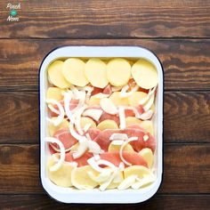 Steps - How to make Syn Free Bacon, Onion and Potato Bake | Slimming World-2