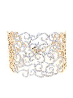 #Daphne #bracelet in 18kt rose gold and white diamonds. #CASATO - www.casatogioielli.com