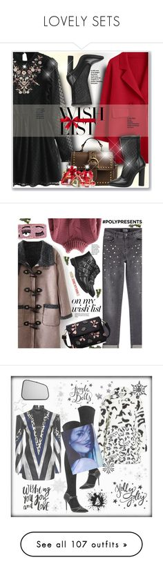 """LOVELY SETS"" by beautifulplace ❤ liked on Polyvore featuring contestentry, polyPresents, Karl Lagerfeld, Chiara Ferragni, Juicy Couture, casual, casualoutfit, winterstyle, gamiss and Malone Souliers"
