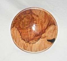Curly Maple burl bowl