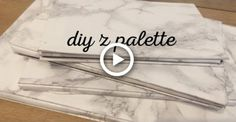 makeup palette Z Palette Out Of A Notebook Diy Z Palette, Diy Makeup Palette, Magnetic Makeup Palette, Diy Hair Weave, Diy Makeup Kit, Diy Eyeshadow, Make Your Own Makeup, Makeup Pallets, Star Wars