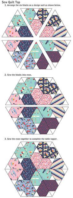 Sweetheart Table Topper Tutorial   Jaybird Quilts
