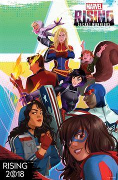 #Marvel to Launch New Animation Franchise '#Marvel Rising' #Marvel