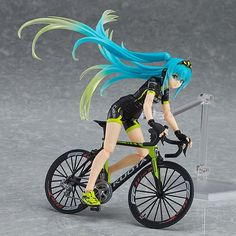 Pre-Order Release Date: February 2017 GOODSMILE RACING & TeamUKYO director Ukyo Katayama's bicycle team is supported by Racing Miku! An all new Racing Miku figma wearing the cycling jersey used by the