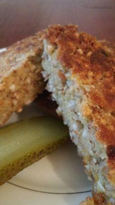 """Dobrota, která se výborně hodí při """"odlehčovacích"""" (tzn. bezmasých) dnech. Weight Loss Smoothies, Ham, Banana Bread, Healthy Life, Sandwiches, Food And Drink, Low Carb, Gluten Free, Homemade"""
